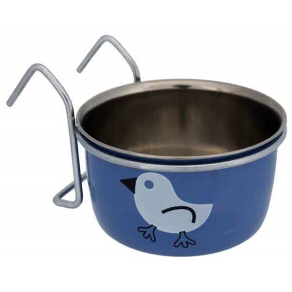 Миска-кормушка для птиц подвесная Trixie металлическая