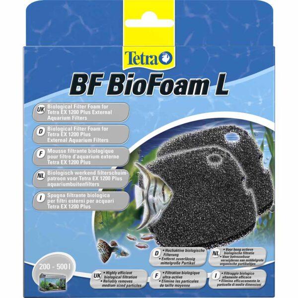 Биогубка в фильтр Tetra BioFoam L 2 шт. (для внешнего фильтра Tetra EX 1200)