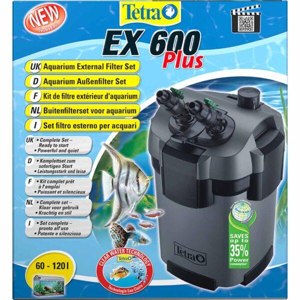 Внешний фильтр для аквариума Tetra EX 600 Plus (на 60-120 л.)