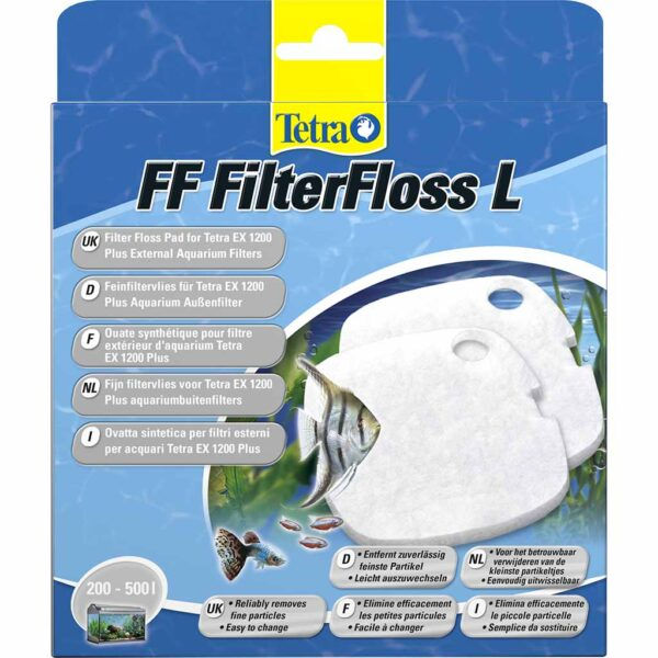 Губка мелкой очистки Tetra Filter Floss L 2 шт. (для внешних фильтров Tetra EX 1200/1200 plus)