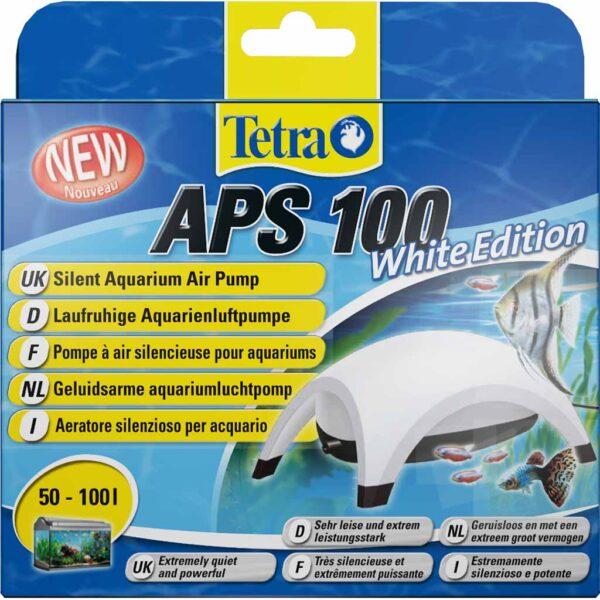 Компрессор для аквариума Tetra APS 100 White Edition белый (на 50-100 л.)