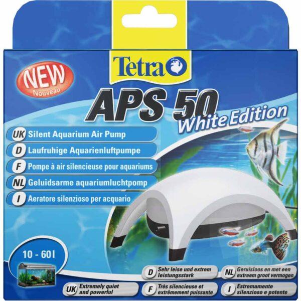 Компрессор для аквариума Tetra APS 50 White Edition белый (на 10-60 л.)