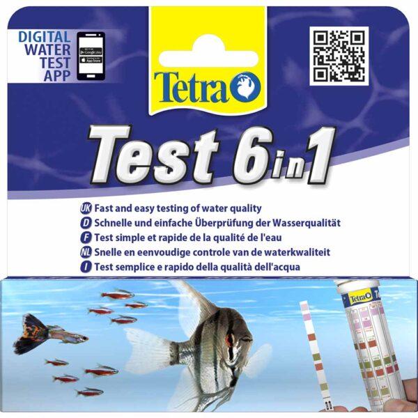 Набор индикаторных тестов для воды в аквариуме Tetra Test 6in1