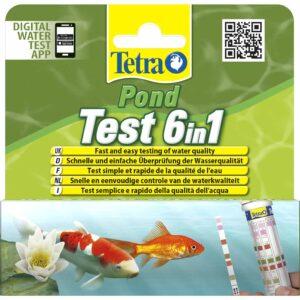 Набор индикаторных тестов для воды Tetra Pond Test 6in1 (25 шт.)