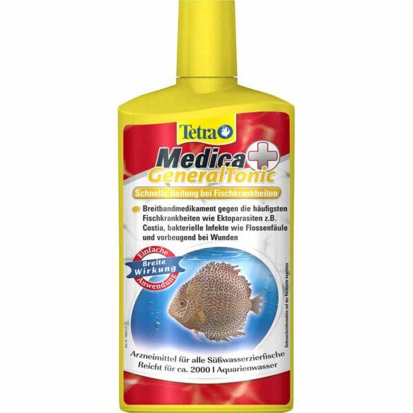 Средство от бактерий и паразитов у рыб Tetra Medica General Tonic 100 мл.