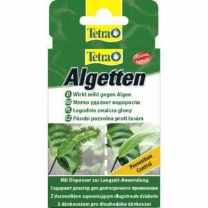 Средство против водорослей в аквариуме Tetra Algetten 12 табл. (на 240 л.)