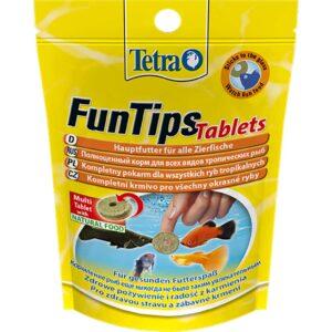 Сухой корм для аквариумных рыб в виде приклеивающихся таблеток Tetra FunTips Tablets (для тропических рыб) 20 шт.