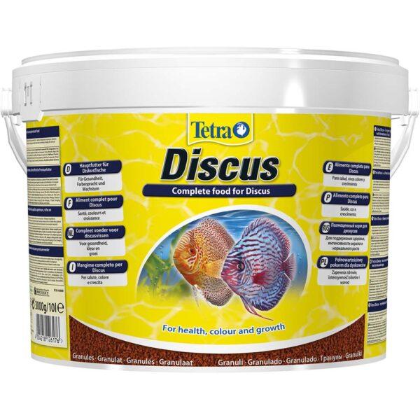 Сухой корм для аквариумных рыб в гранулах Tetra Discus (для дискусов) 250 мл.; 1 л.; 10 л.