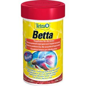 Сухой корм для аквариумных рыб в хлопьях Tetra Betta (для петушков) 100 мл.