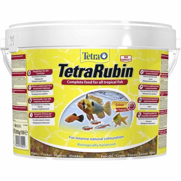 Сухой корм для аквариумных рыб в хлопьях Tetra Rubin (для всех видов тропических рыб) 100 мл.; 250 мл.; 1 л.; 10 л.