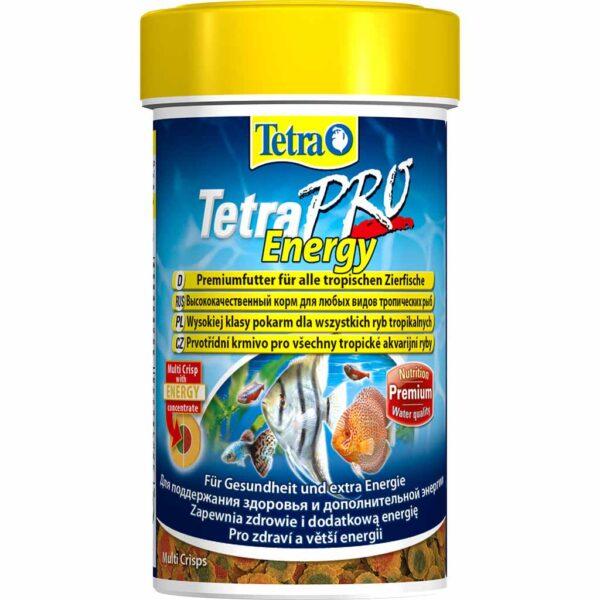 Сухой корм для аквариумных рыб в чипсах Tetra Pro Energy Crisps (для всех видов тропических рыб) 100 мл.; 250 мл.; 500 мл.; 1 л.; 10 л.