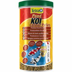 Сухой корм для прудовых рыб в гранулах Tetra KOI Colour Pellets (для карпов кои) 1 л.
