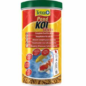 Сухой корм для прудовых рыб в гранулах Tetra POND KOI Sticks (для карпов кои) 1 л.; 4 л.; 10 л.; 50 л.
