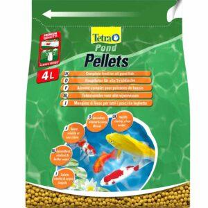 Сухой корм для прудовых рыб в гранулах Tetra POND Pellets medium (для всех прудовых рыб) 7 л.