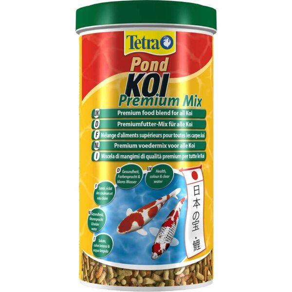 Сухой корм для прудовых рыб Tetra KOI Premium Mix (для карпов кои) 1 л.