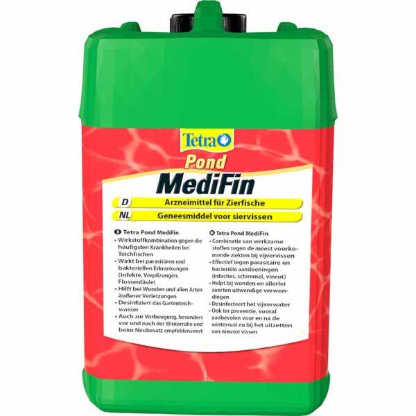 Универсальный лекарственный препарат для прудовых рыб Tetra Pond Medi Fin 250 мл.; 500 мл.; 3 л.