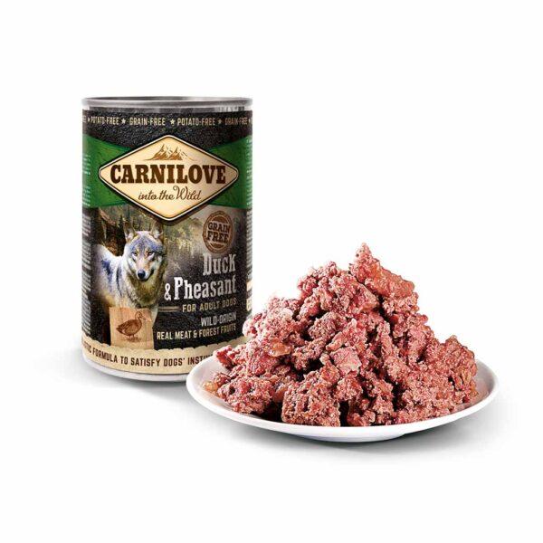 Консервы для собак Carnilove Dog DUCK & PHEASANT с уткой и фазаном 400 гр.