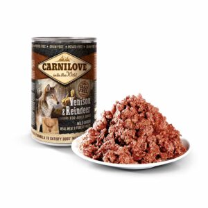 Консервы для собак Carnilove Dog VENISON с северным оленем 400 гр.