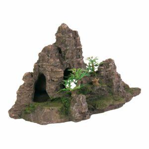 Декорация для аквариума – Гора с пещерой Trixie 22 см.