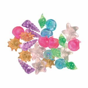 Декорация для аквариума – Ракушки декоративные Trixie (набор 24 шт.)