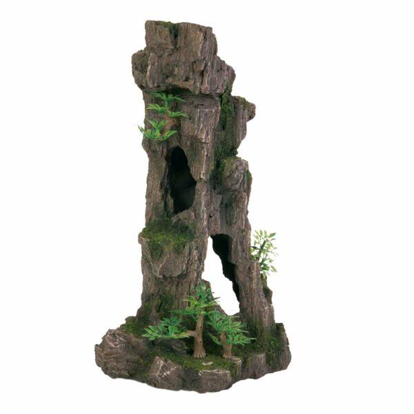 Декорация для аквариума – Скала-колонна Trixie 28 см.