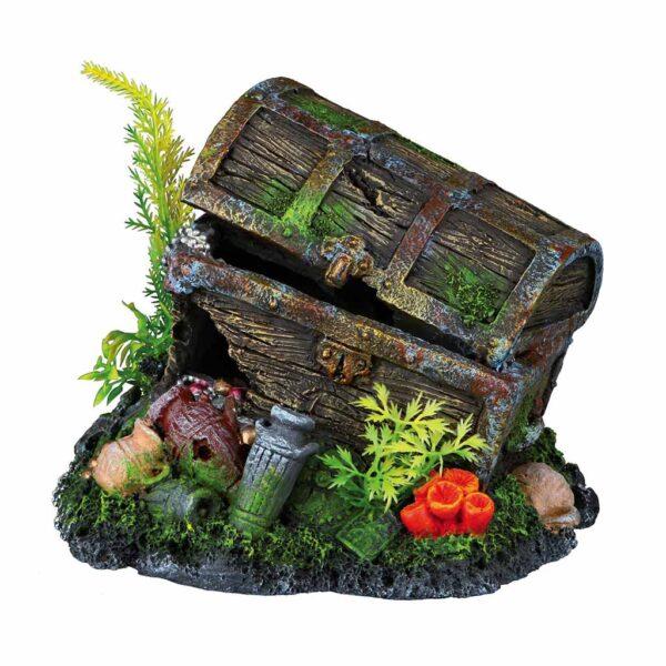 Декорация для аквариума – Сундук с сокровищами Trixie 17 см.