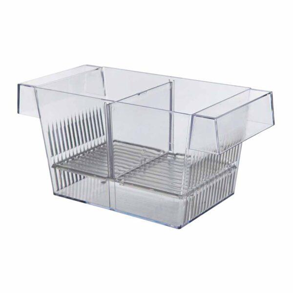 Отсадник для рыб пластиковый с двумя секциями Trixie 20x10x10 см.