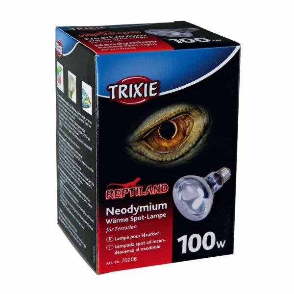 Рефлекторная лампа накаливания с покрытием из неодиниума Trixie (для обогрева) 35 W; 50 W; 75 W; 100 W