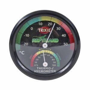 Термометр-гигрометр механический для террариума Trixie 7,5 см.
