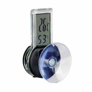 Термометр-гигрометр электронный, с присоской для террариума Trixie 3х6 см.