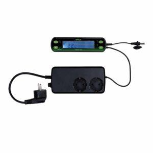Терморегулятор цифровой для террариума, аквариума TIMER Trixie 16x4 см.
