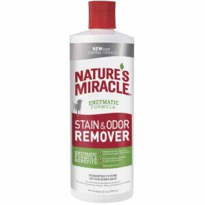 Уничтожитель пятен и запахов от собак 8in1 Nature's Miracle 473 мл.; 709 мл.; 946 мл.; 3,7 л.