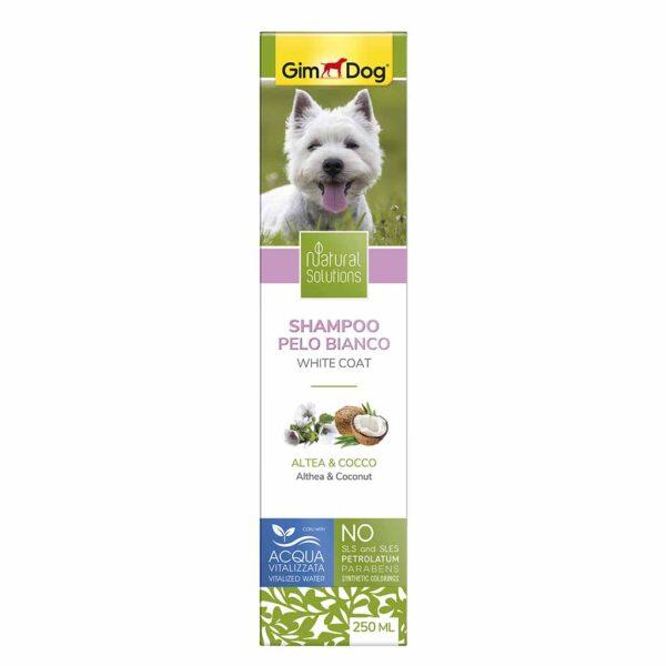 Шампунь для собак с белой шерстью Natural Solutions GimDog 250 мл.