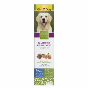 Шампунь для собак с длиной шерстью Natural Solutions GimDog 250 мл.