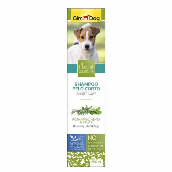 Шампунь для собак с короткой шерстью Natural Solutions GimDog 250 мл.