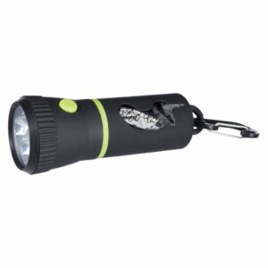 Диспансер-фонарик для уборки фекалий собак Trixie пластик 17 см.