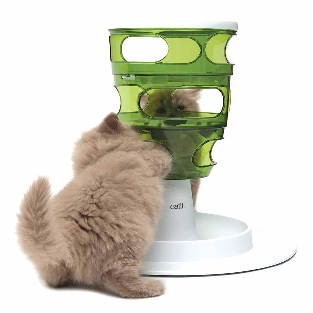 купить интерактивную миску для кошки